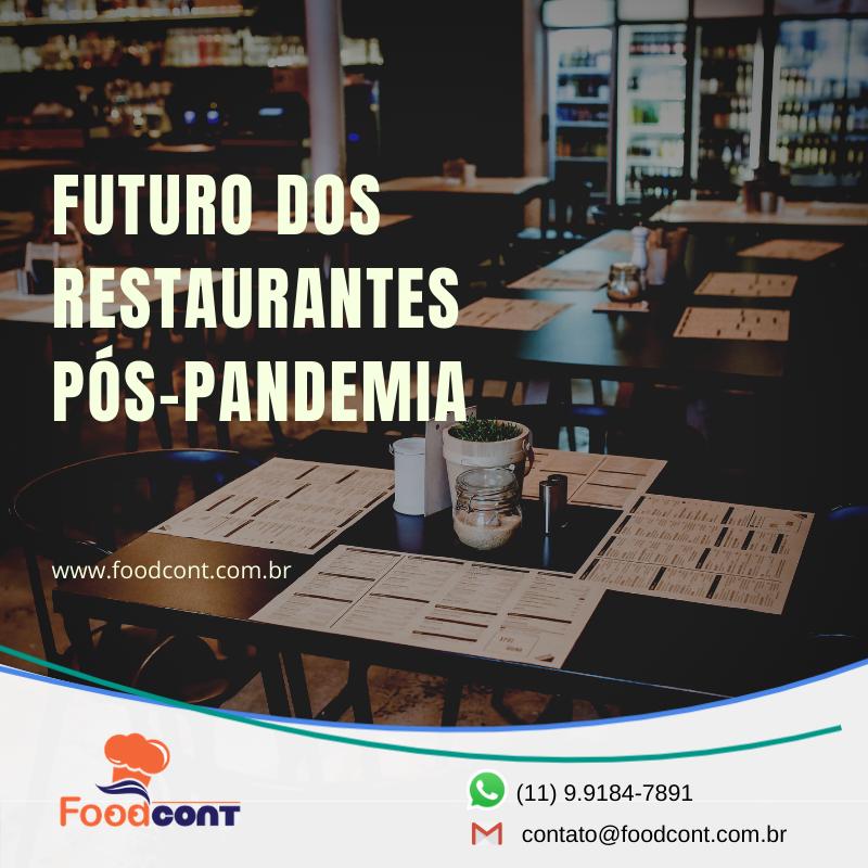 Futuro dos restaurantes pós-pandemia